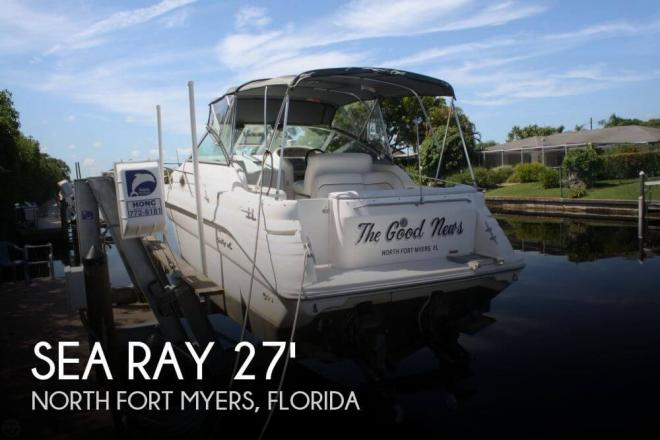 1995 Sea Ray 270 Sundancer - For Sale at Fort Myers, FL 33965 - ID 59409