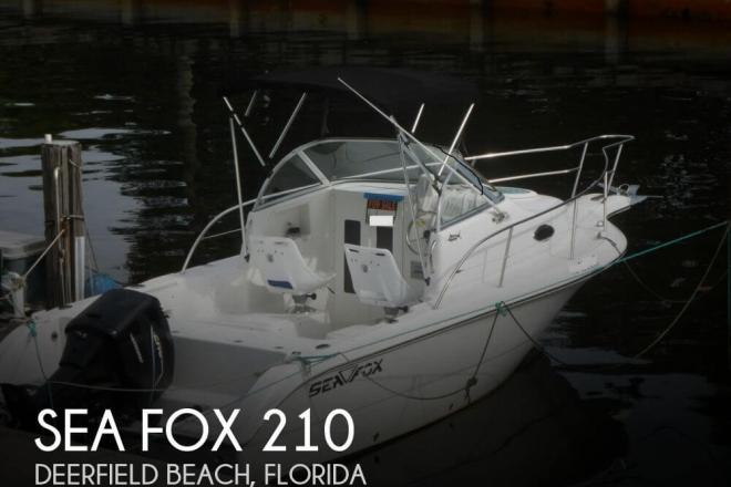 2004 Sea Fox 210 - For Sale at Deerfield Beach, FL 33441 - ID 58541