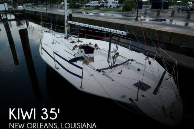 1985 Kiwi 35 Ventura Racer - For Sale at New Orleans, LA 70154 - ID 58423
