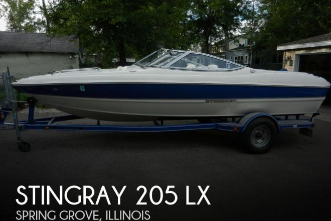 2008 Stingray 205 LX - For Sale at Spring Grove, IL 60081 - ID 58171