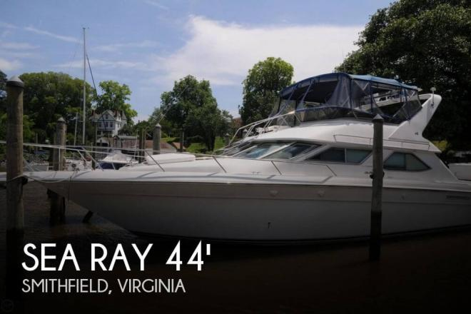 1995 Sea Ray 440 Express Bridge - For Sale at Smithfield, VA 23430 - ID 58335