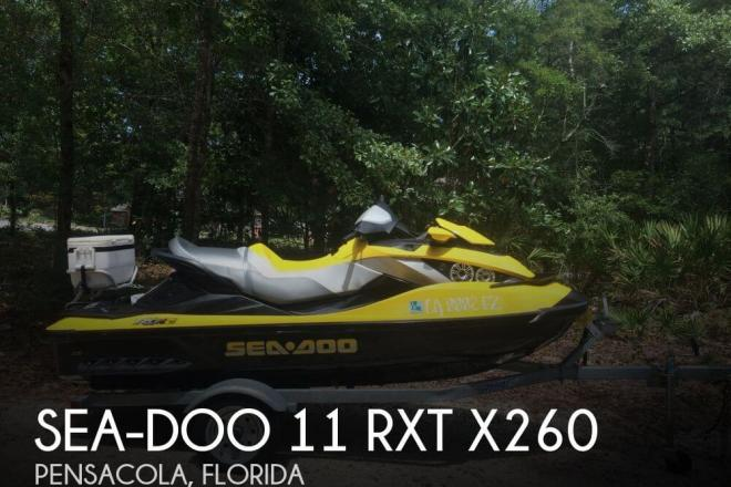 2010 Sea Doo 11 RXT X260 - For Sale at Pensacola, FL 32501 - ID 58170