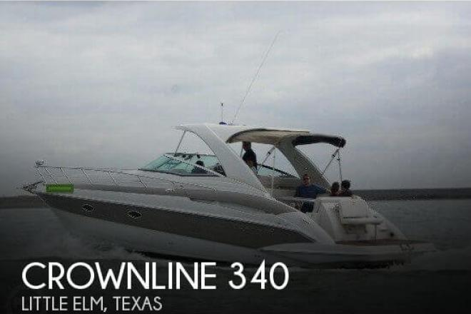 2007 Crownline 340 - For Sale at Little Elm, TX 75068 - ID 57535