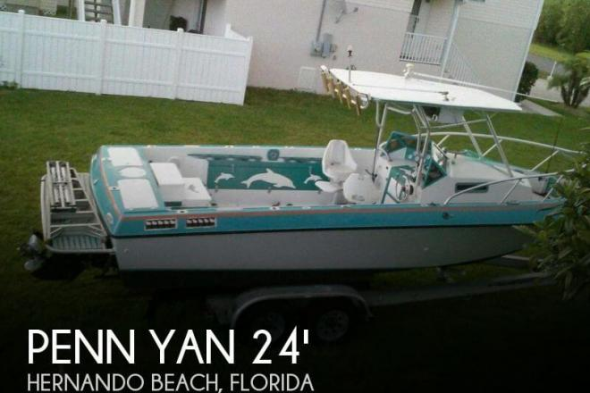 1968 Penn Yan 240 Sharp Walkaround - For Sale at Hernando Beach, FL 34607 - ID 56751