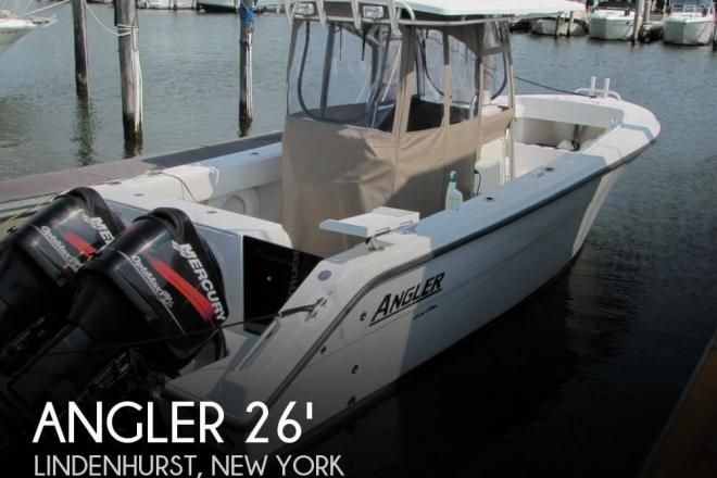 2007 Angler 260 Center Console - For Sale at Lindenhurst, NY 11757 - ID 56492