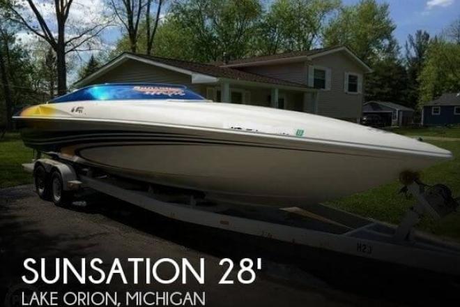 2001 Sunsation 288 Intimidator - For Sale at Lake Orion, MI 48359 - ID 57526