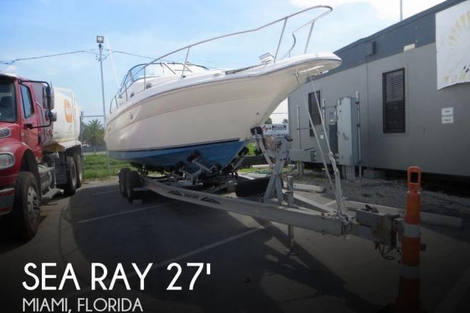1997 Sea Ray 270 Sundancer - For Sale at Miami, FL 33177 - ID 56930