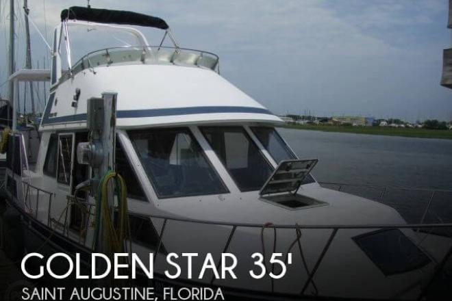 1987 Golden Star 35 Sundeck - For Sale at Saint Augustine, FL 32080 - ID 56179