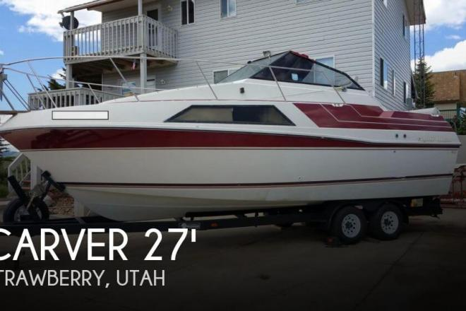 1987 Carver 279 Montego Cruiser - For Sale at Heber City, UT 84032 - ID 56683