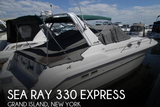 1995 Sea Ray 330 Express - For Sale at Grand Island, NY 14072 - ID 58535