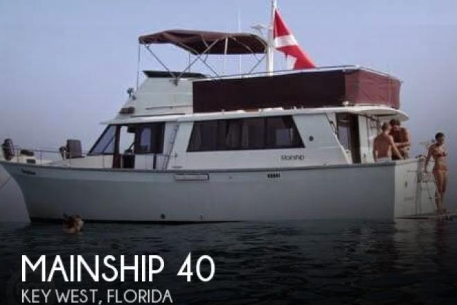 1981 Mainship 40 - For Sale at Key West, FL 33040 - ID 55532