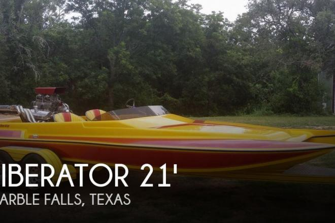 1994 Liberator 21 Drag Boat - For Sale at Marble Falls, TX 78654 - ID 55591