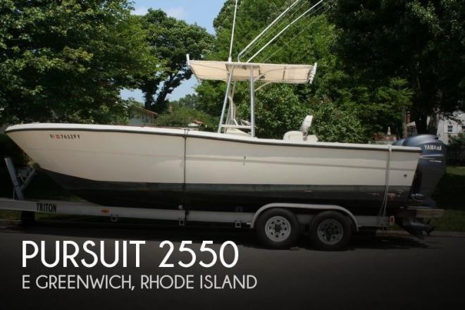 1987 Pursuit 2550 - For Sale at Warwick, RI 2886 - ID 55766