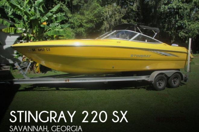 2004 Stingray 220 SX - For Sale at Savannah, GA 31401 - ID 58753