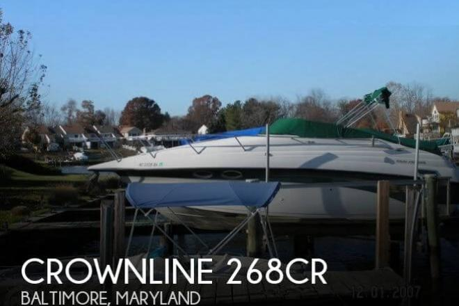 1999 Crownline 268CR - For Sale at Baltimore, MD 21201 - ID 54802