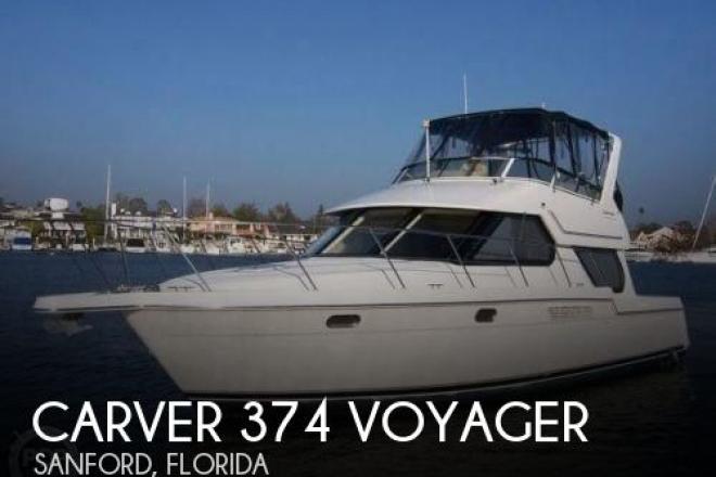 2001 Carver 374 Voyager - For Sale at Sanford, FL 32771 - ID 55995