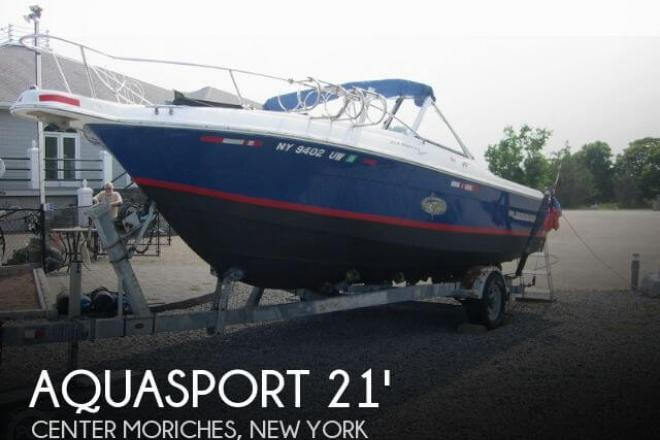 2002 Aquasport 215 Osprey - For Sale at Center Moriches, NY 11934 - ID 54989