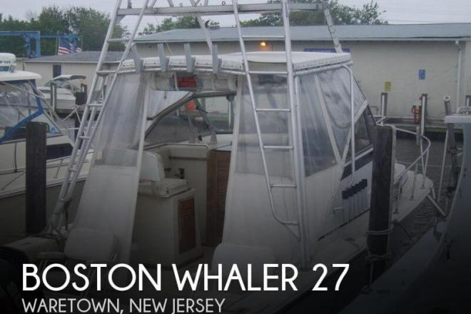 1986 Boston Whaler 27 Offshore - For Sale at Waretown, NJ 8758 - ID 54487