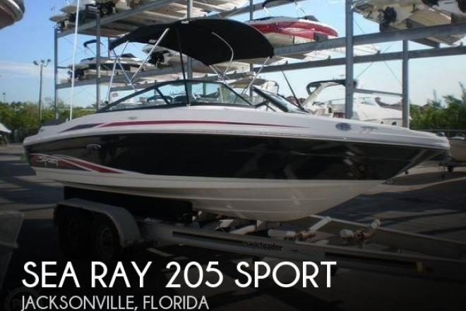 2012 Sea Ray 205 Sport - For Sale at North Palm Beach, FL 33408 - ID 95559