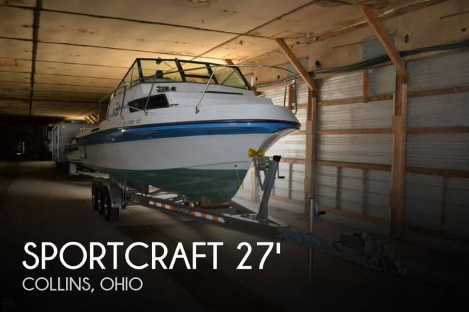 1987 Sportcraft 270 Coastal Fisherman - For Sale at Collins, OH 44826 - ID 52560