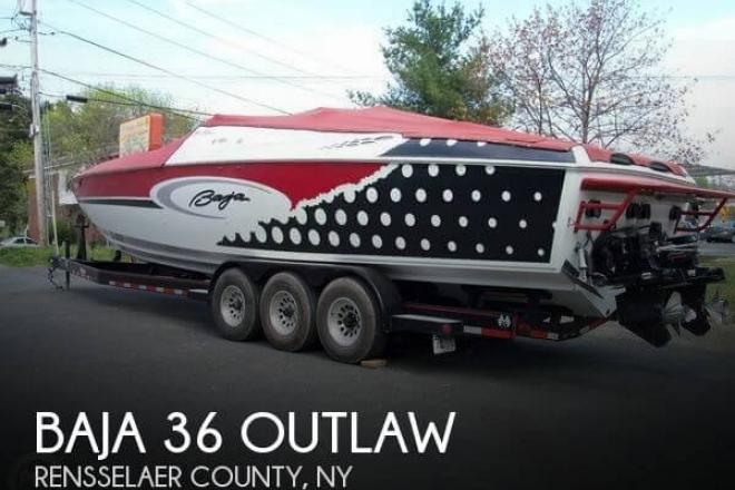 2001 Baja 36 Outlaw - For Sale at Wynantskill, NY 12198 - ID 52339