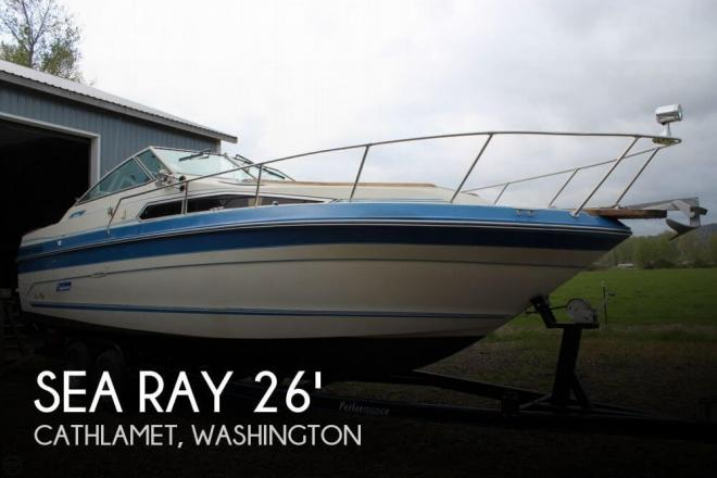 1988 Sea Ray Sundancer 26 - For Sale at Cathlamet, WA 98612 - ID 52080