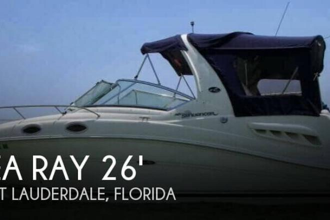 2006 Sea Ray 260 Sundancer - For Sale at Fort Lauderdale, FL 33331 - ID 81587