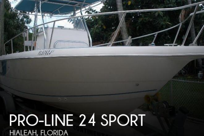 1996 Pro Line 24 Sport - For Sale at Hialeah, FL 33002 - ID 50922