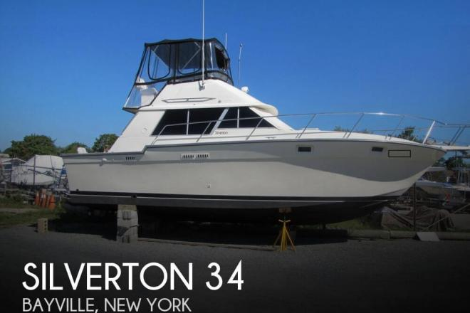 1986 Silverton 34 - For Sale at Bayville, NY 11709 - ID 59105