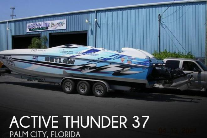 2001 Active Thunder 37 - For Sale at Palm City, FL 34990 - ID 50692