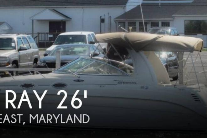 2004 Sea Ray 260 Sundancer - For Sale at North East, MD 21901 - ID 66147