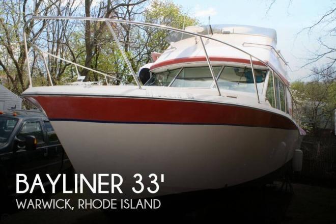 1974 Bayliner 33 Uniflight - For Sale at Warwick, RI 2886 - ID 52788