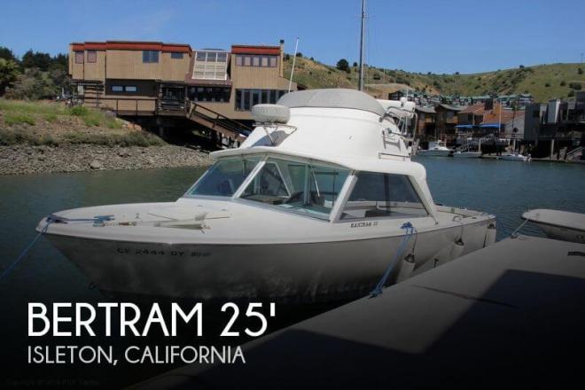 1965 Bertram 25 Fly Bridge Sports Fisherman - For Sale at Isleton, CA 95641 - ID 52215
