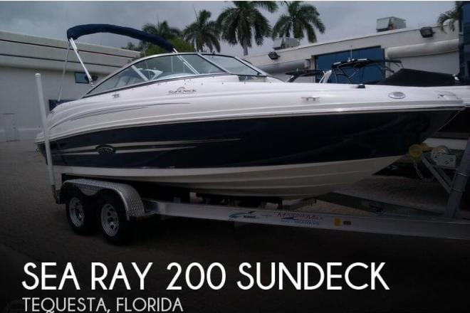2012 Sea Ray 200 Sundeck - For Sale at Tequesta, FL 33469 - ID 63927