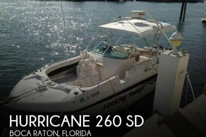 2004 Hurricane 260 SD - For Sale at Boca Raton, FL 33481 - ID 47007