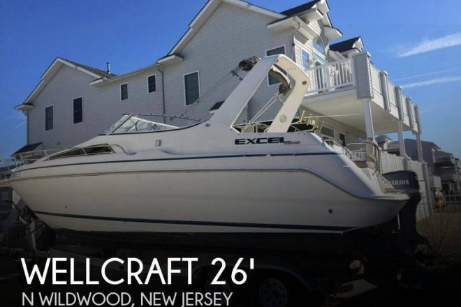 1997 Wellcraft 26 Excel SE - For Sale at N Wildwood, NJ 8260 - ID 82360