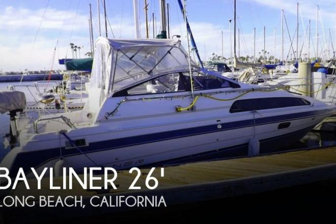 1991 Bayliner 2655 Sunbridge - For Sale at Long Beach, CA 90801 - ID 47013