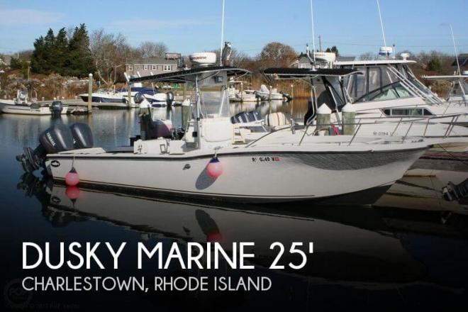 1992 Dusky 256 Center Console - For Sale at Charlestown, RI 2813 - ID 45424