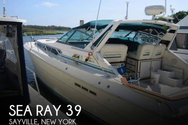 1984 Sea Ray 390 Express - For Sale at Sayville, NY 11782 - ID 46458