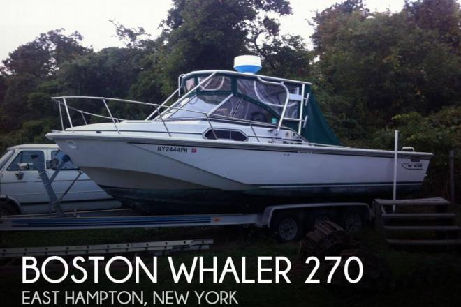 1985 Boston Whaler 270 - For Sale at East Hampton, NY 11937 - ID 44673