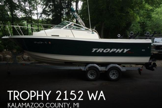 2008 Trophy 2152 WA - For Sale at Kalamazoo, MI 49019 - ID 71008