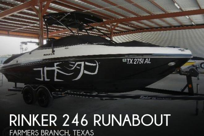 2007 Rinker 246 Runabout - For Sale at Farmers Branch, TX 75229 - ID 43876