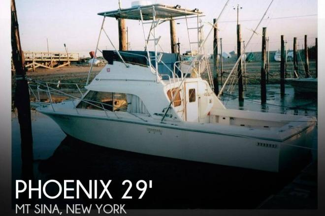 1986 Phoenix 29 Sportfish - For Sale at Mount Sinai, NY 11766 - ID 43133