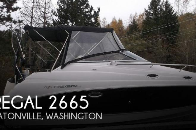 2008 Regal 2665 - For Sale at Eatonville, WA 98328 - ID 42708