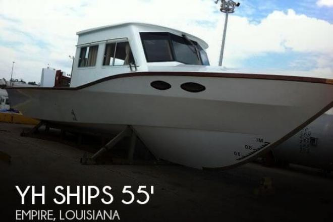 2013 YH Ships 55 Fish or Shrimper - For Sale at Empire, LA 70050 - ID 44396