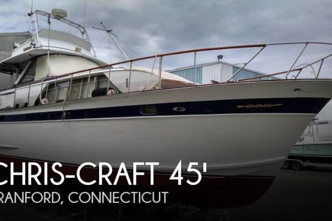 1967 Chris Craft 45 Constellation - For Sale at Branford, CT 6405 - ID 51235