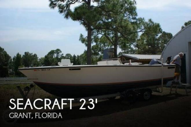 1980 Sea Craft 23 Open Fisherman - For Sale at Grant, FL 32949 - ID 42875
