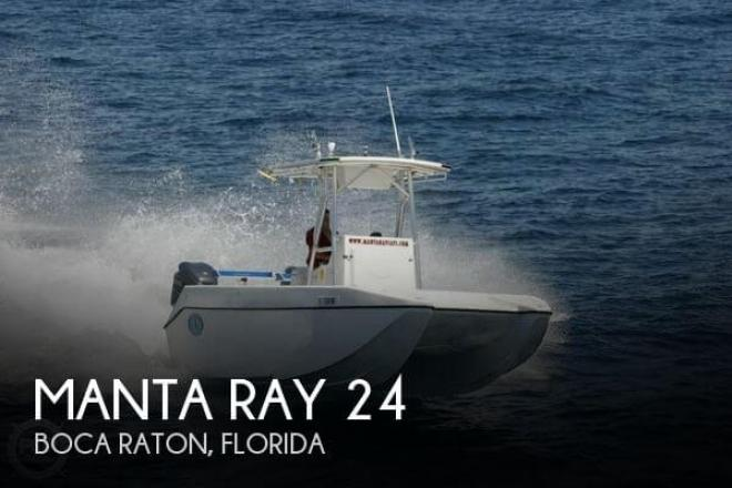 2000 Manta Ray 24 - For Sale at Boca Raton, FL 33481 - ID 46905