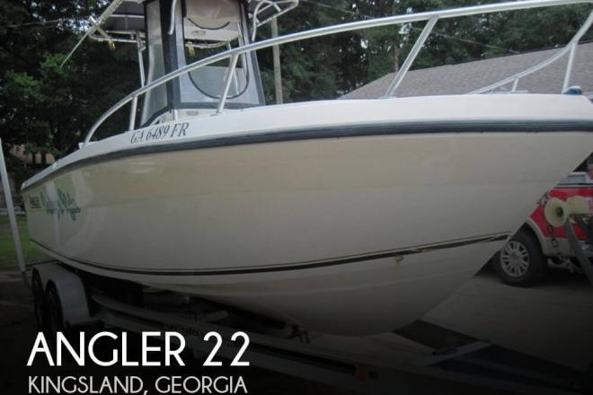 2001 Angler 22 - For Sale at Kingsland, GA 31548 - ID 37524
