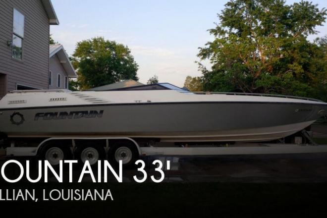 1988 Fountain 33 Executioner - For Sale at Springfield, LA 70462 - ID 38549
